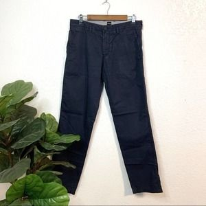 Hugo Boss Men's navy blue chino pants US 32R